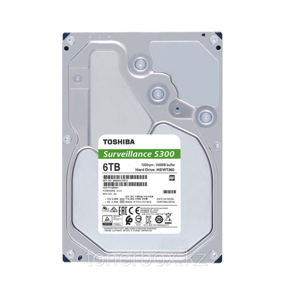 Внутренний жесткий диск Toshiba HDWT360UZSVA (6 Тб, 3.5 дюйма, SATA, HDD (классические))