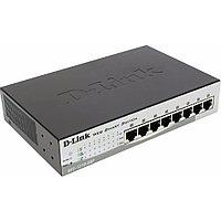 Коммутатор D-link DES-1210-08P/C2A (100 Base-TX (100 мбит/с), Без SFP портов)