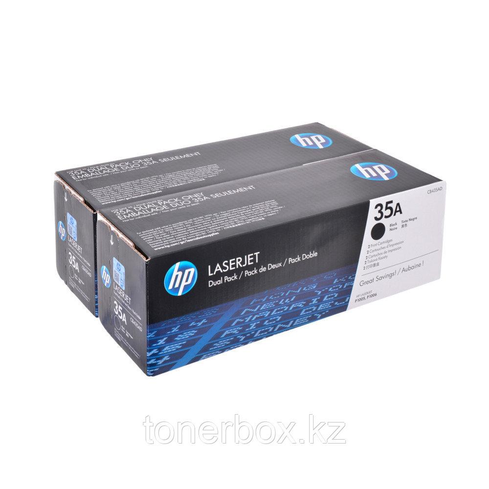 Лазерный картридж HP 35A Черный CB435AF