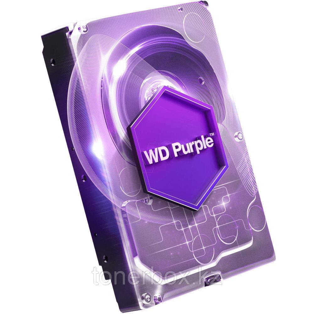"Внутренний жесткий диск Western Digital Purple 4TB SATA 3.5"" 5400RPM 64Mb WD40PURZ (4 Тб, 3.5 дюйма, SATA, HDD (классические))"