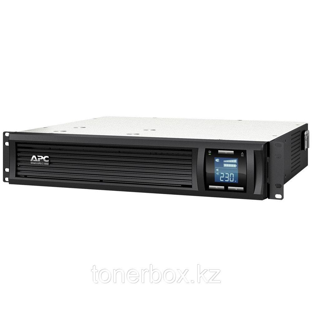 Источник бесперебойного питания APC Smart-UPS C 1000 RM 2U SMC1000I-2U (Линейно-интерактивные, C возможностью