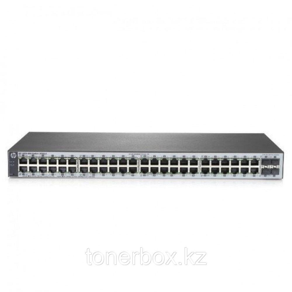 Коммутатор HPE 1820-48G Switch J9981A (1000 Base-TX (1000 мбит/с), 4 SFP порта)