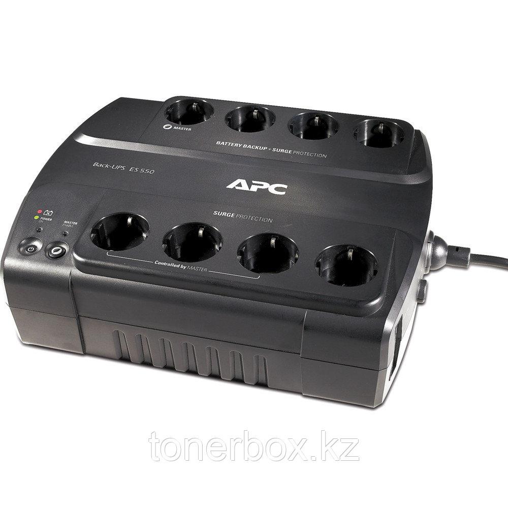 Источник бесперебойного питания APC Back-UPS ES 550 BE550G-RS (Линейно-интерактивные, Напольный, 550 ВА, 330 Вт)