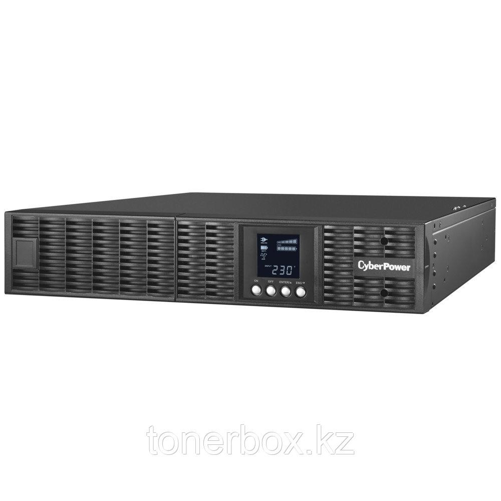 Источник бесперебойного питания CyberPower OLS1000ERT2U (Двойное преобразование (On-Line), C возможностью установки в стойку, 1000 ВА, 900 Вт)