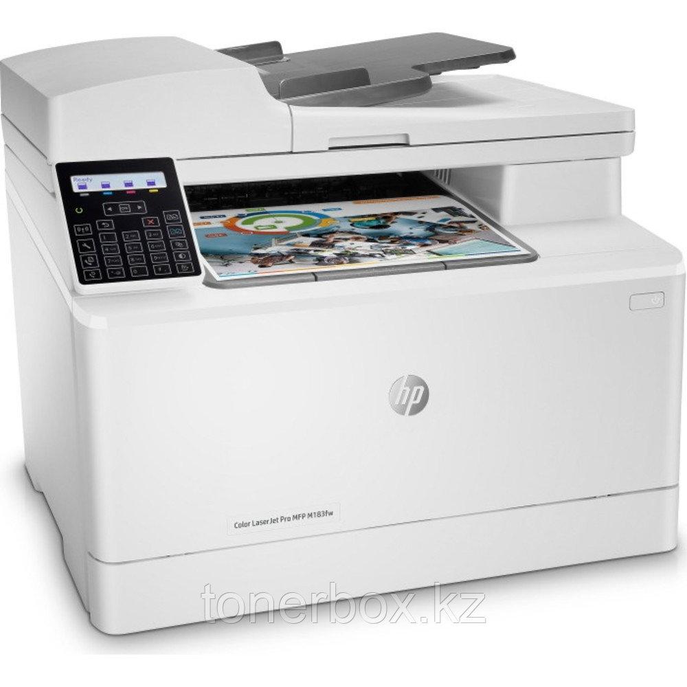 МФУ HP Color LaserJet Pro M183fw 7KW56A (А4, Лазерный, Цветной)