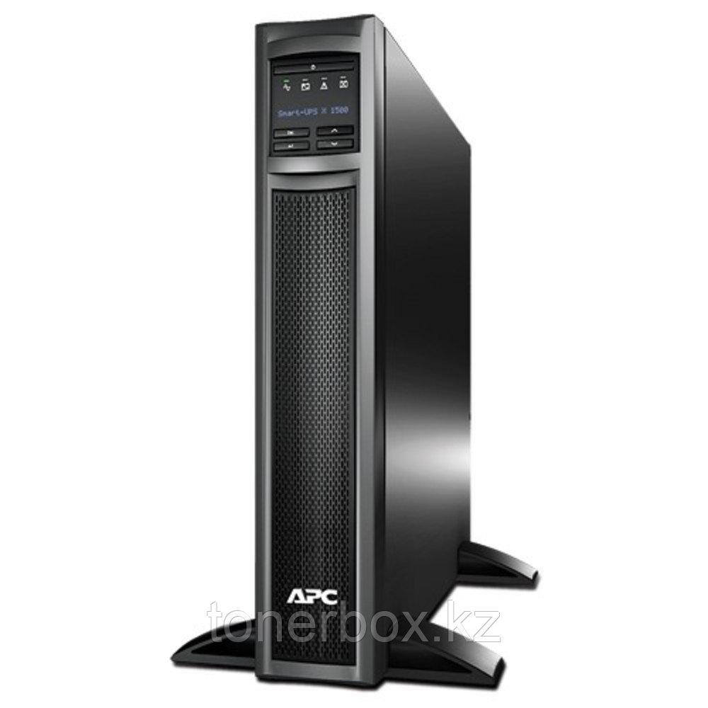Источник бесперебойного питания APC Smart-UPS X 1500 RM 2U SMX1500RMI2U (Линейно-интерактивные, C возможностью установки в стойку, 1500 ВА, 1200 Вт)