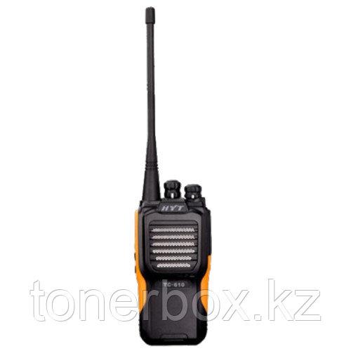 Носимая рация HYT (Hytera) Радиостанция HYT TC-610 TC-610 (440-470МГц)