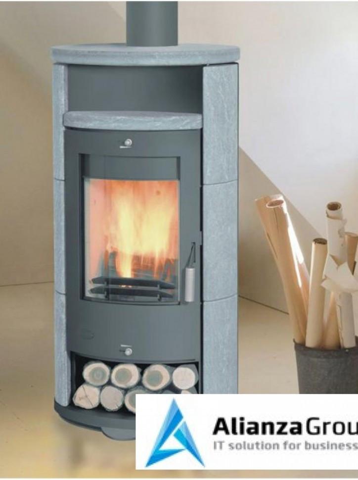 Печь-камин Fireplace Alicante Sp поворотная
