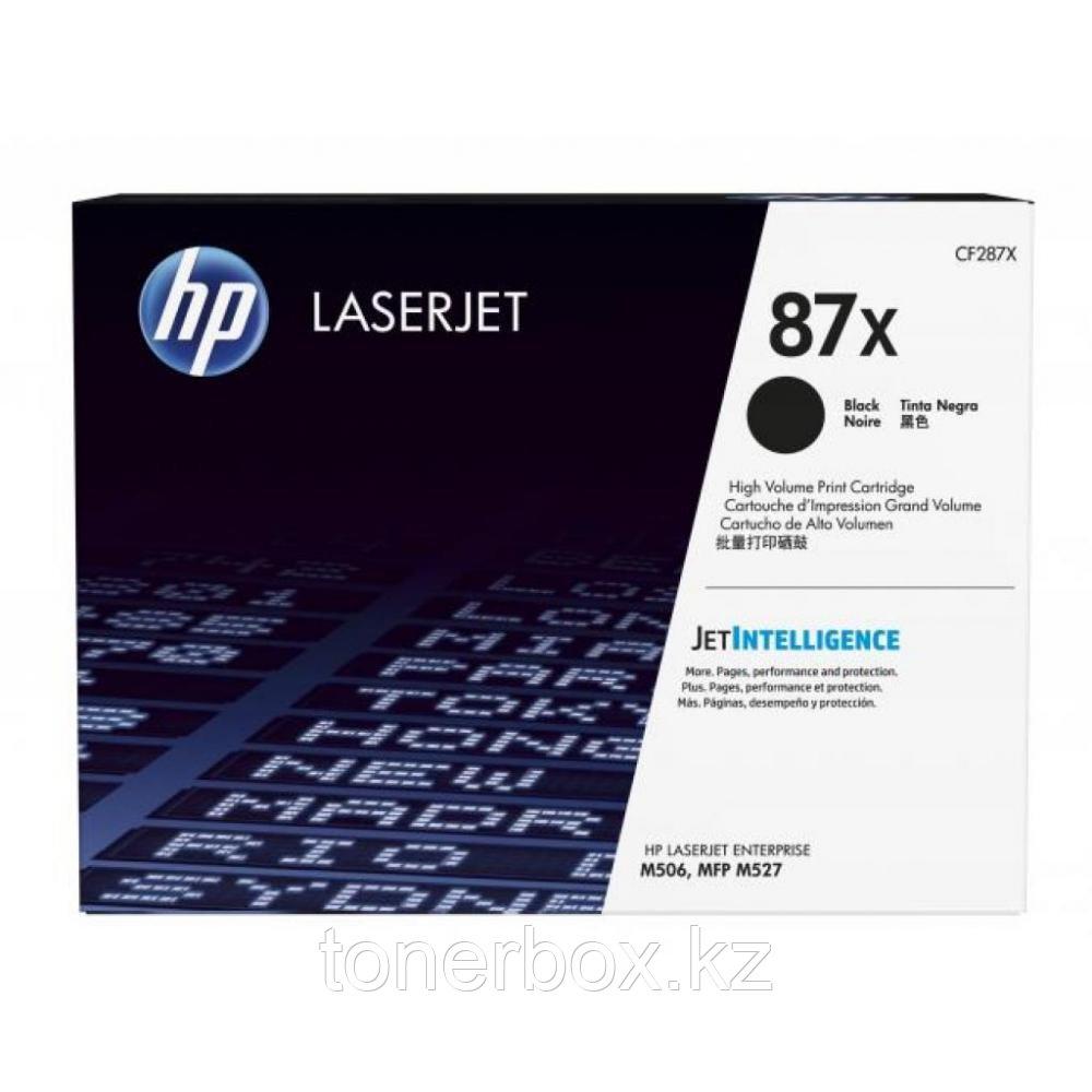 Лазерный картридж HP №87X CF287X
