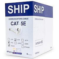 Кабель витая пара SHIP Кабель сетевой, SHIP, D145-P, Cat.5e, FTP,  305 м/б