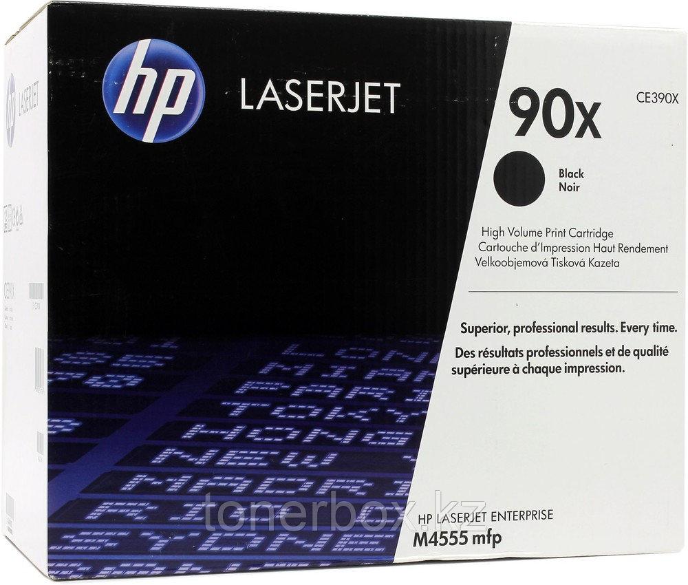 Лазерный картридж HP 90X Черный CE390X