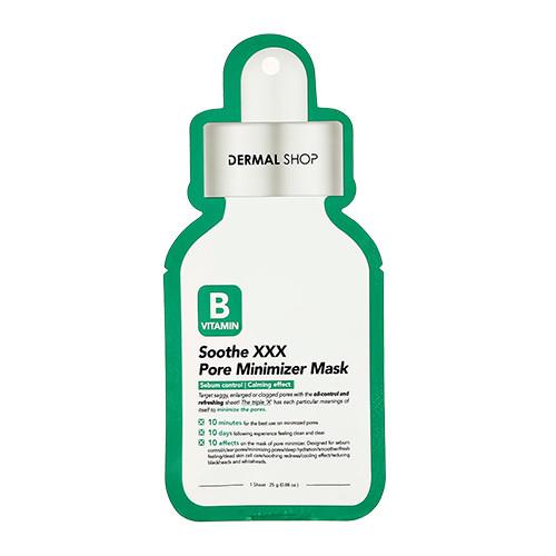 Dermal Shop Vitamin B Soothe XXX Pore Minimizer Mask Минимизирующая поры маска для лица с витамином B