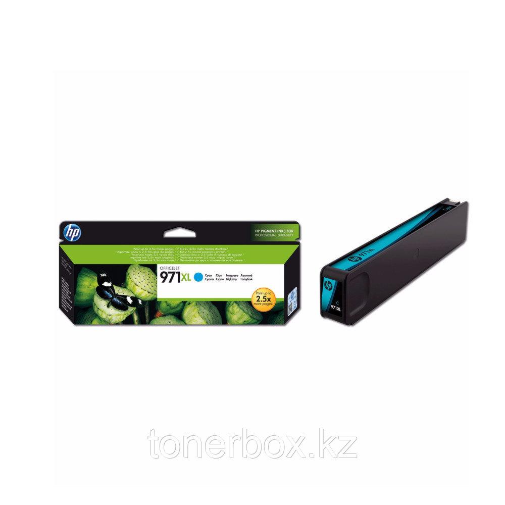 Струйный картридж HP 971XL увеличенной емкости, Голубой CN626AE