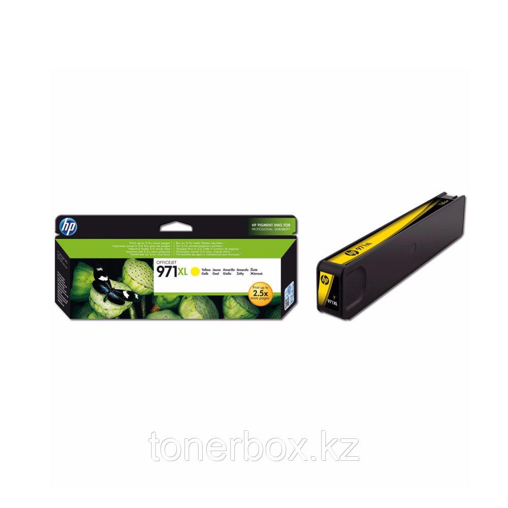 Струйный картридж HP 971XL увеличенной емкости, Желтый CN628AE