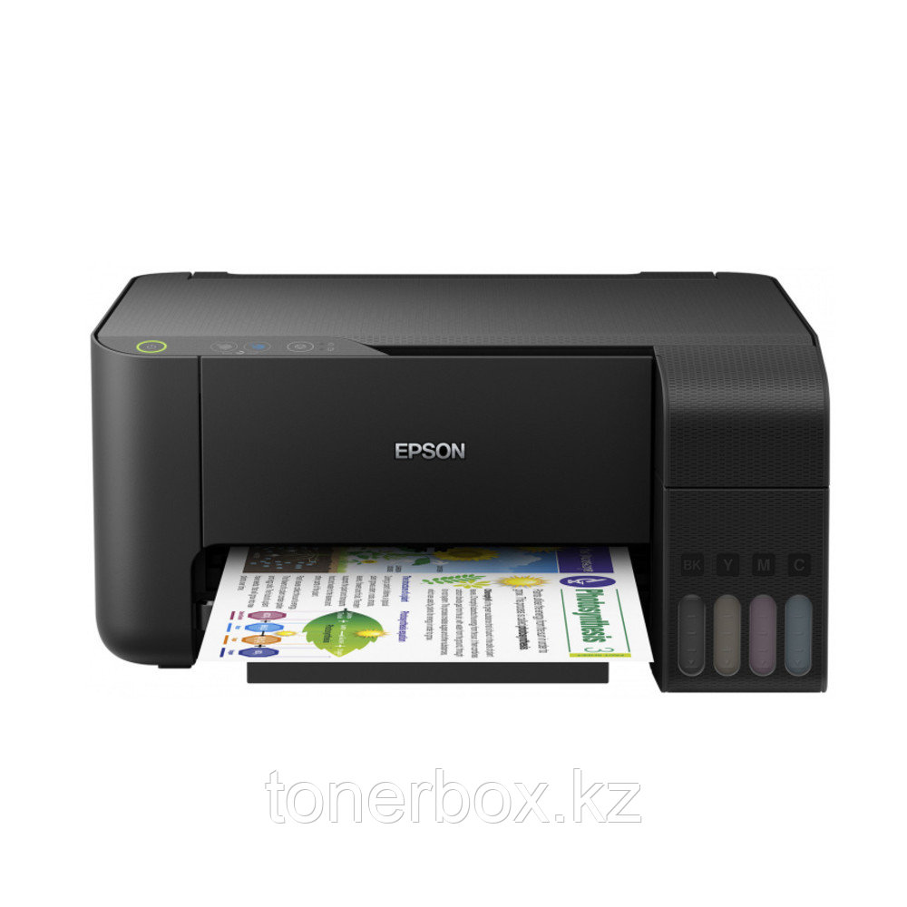 МФУ Epson L3110 (А4, Струйный с СНПЧ, Цветной)