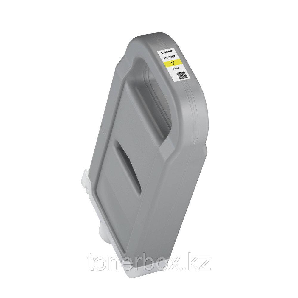 Струйный картридж Canon PFI-1700 Yellow 0778C001