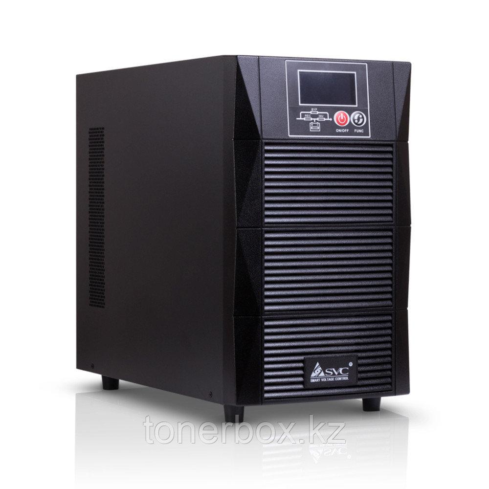 Источник бесперебойного питания SVC PTX-2KL-LCD (Двойное преобразование (On-Line), Напольный, 2000 ВА, 1800