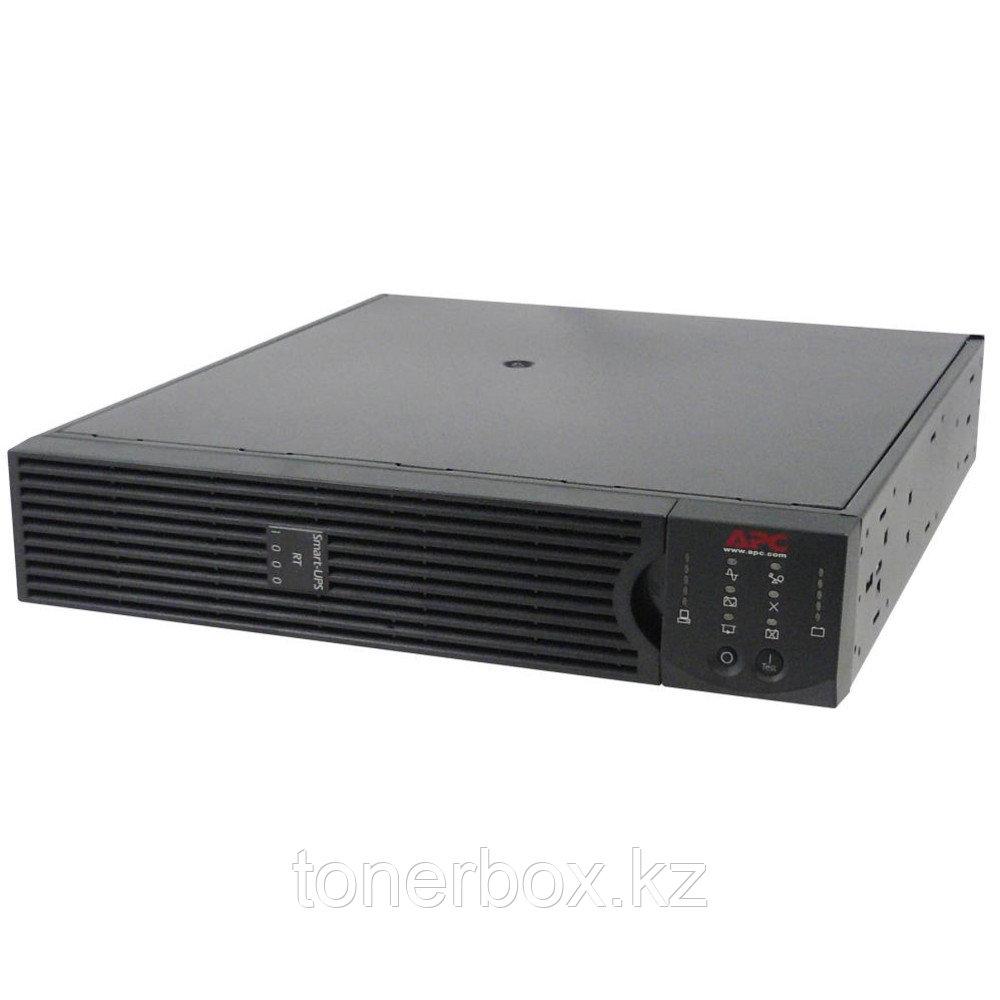 Источник бесперебойного питания APC Smart-UPS RT 1000 RM SURT1000RMXLI (Двойное преобразование (On-Line), C возможностью установки в стойку, 1000 ВА,