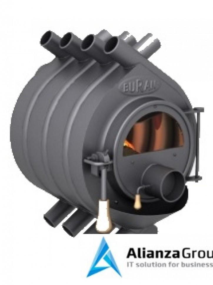Отопительная газогенераторная печь Бренеран АОТ-11 тип 01 до 200м3 со стеклом (БУРАН)