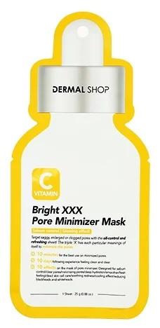 Dermal Shop Сужающая поры маска для лица с витамином C Vitamin C Bright XXX Pore Minimizer Mask
