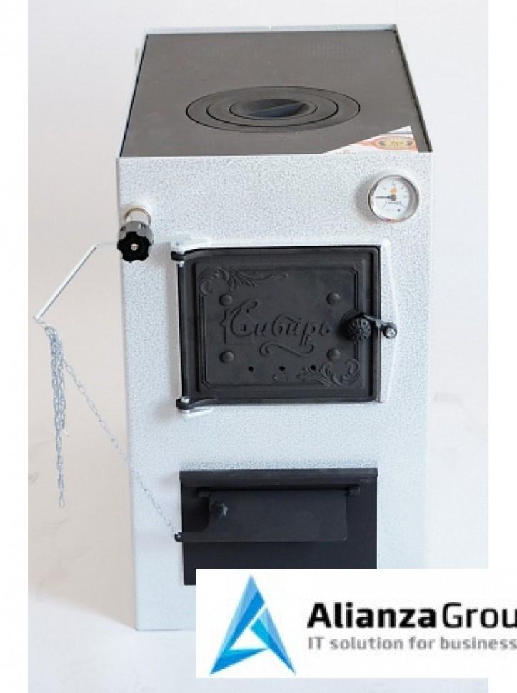 Твердотопливный котел водяного отопления НМК КВО 15 ТПЭ Сибирь