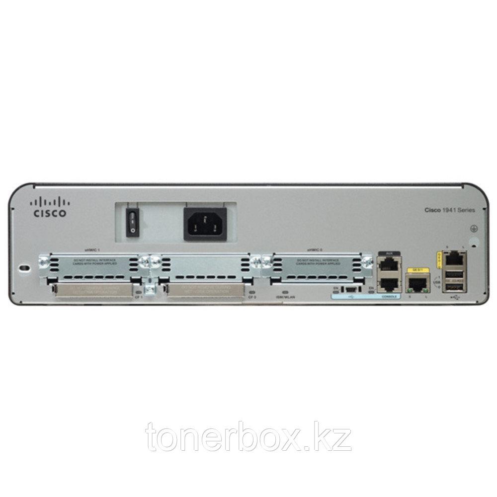 Маршрутизатор Cisco 1941 CISCO1941/K9 (10/100/1000 Base-TX (1000 мбит/с))