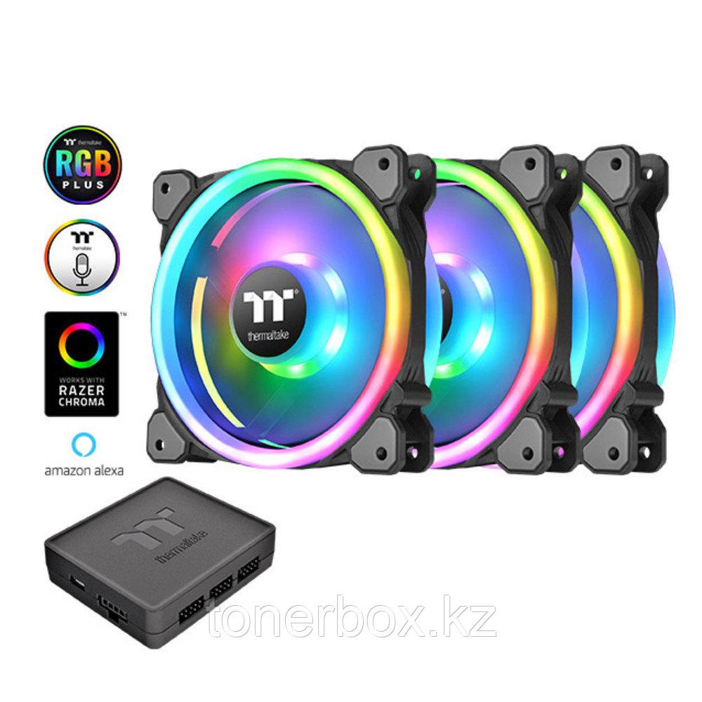 Охлаждение Thermaltake Riing Trio 12 RGB TT Premium Edition (3-Fan Pack) CL-F072-PL12SW-A
