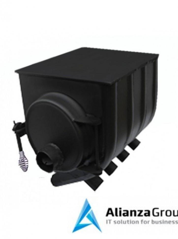 Отопительная печь Везувий АОГТ 100 м3 (00) с варочной поверхностью