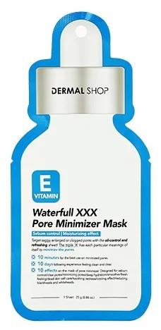 Dermal Shop Vitamin E Waterfull XXX Pore Minimizer Mask Минимизирующая поры маска для лица с витамином E
