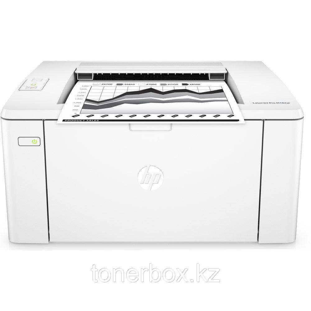 Принтер HP LaserJet Pro M102a G3Q34A (А4, Лазерный, Монохромный (Ч/Б))
