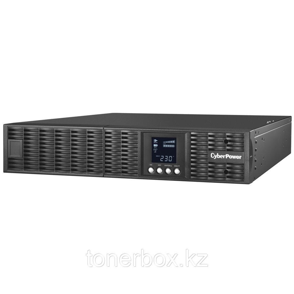 Источник бесперебойного питания CyberPower OLS3000ERT2U (Двойное преобразование (On-Line), C возможностью установки в стойку, 3000 ВА, 2700 Вт)