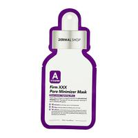 Dermal Shop Vitamin A Firm XXX Pore Minimizer Mask Тканевая маска Минимизирующая поры маска с витамином А