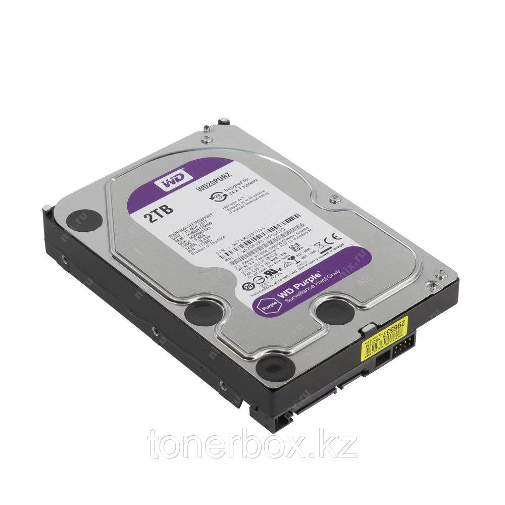 Внутренний жесткий диск Western Digital Purple WD20PURZ (2 Тб, 3.5 дюйма, SATA, HDD (классические))
