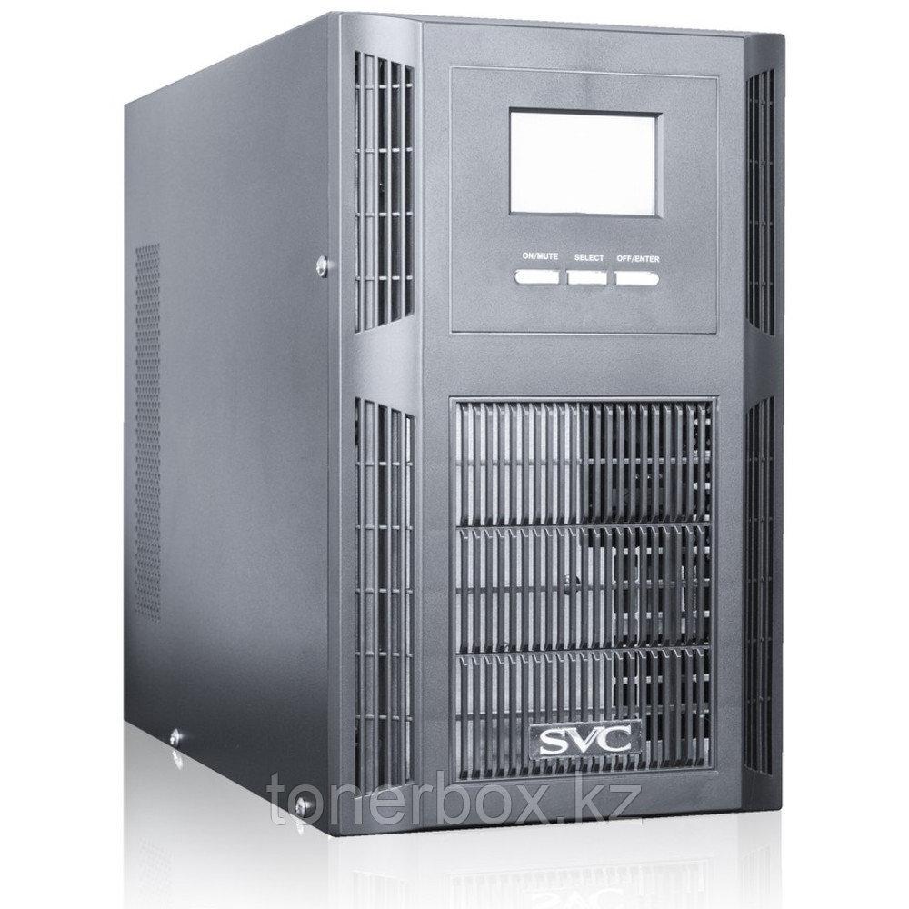Источник бесперебойного питания SVC PT-1K (Двойное преобразование (On-Line), Напольный, 1000 ВА, 800 Вт)