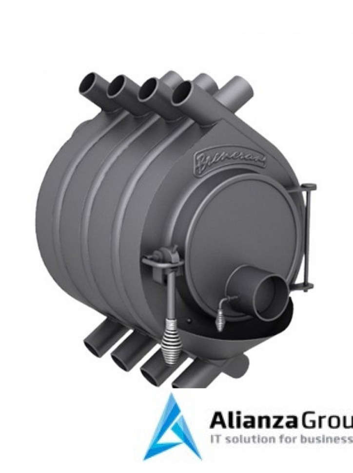 Отопительная газогенераторная печь Бренеран АОТ-11 тип 01 до 200м3