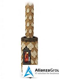Отопительная печь Термофор Сента Панголина шамот-терракота
