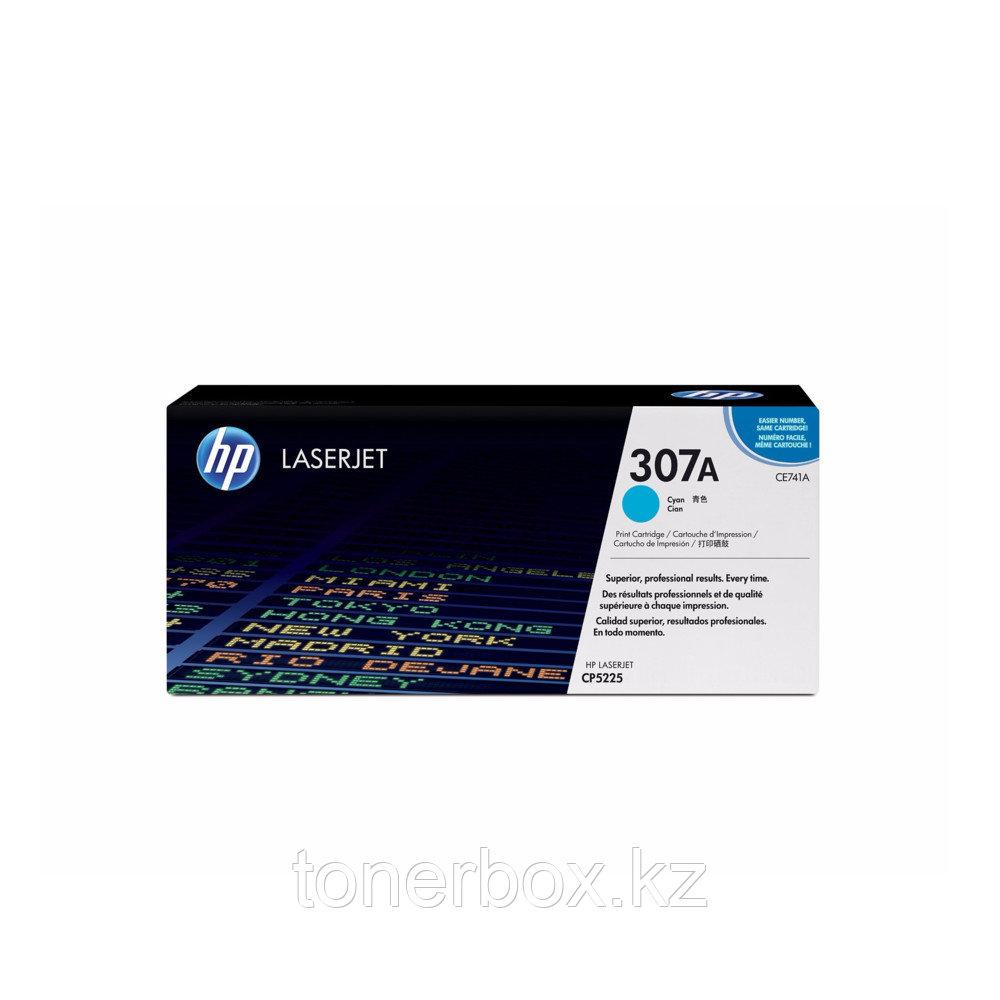 Лазерный картридж HP 307A Голубой CE741A