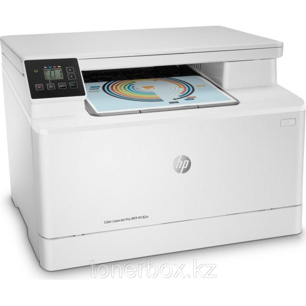 МФУ HP Color LaserJet Pro MFP M182n 7KW54A (А4, Лазерный, Цветной)
