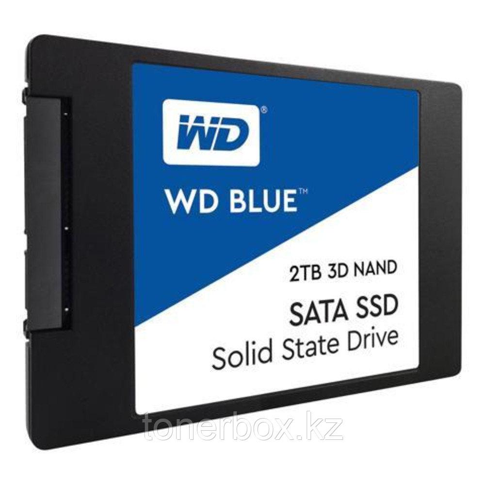 Внутренний жесткий диск Western Digital BLUE WDS200T2B0A (2 Тб, 2.5 дюйма, SATA, SSD (твердотельные))