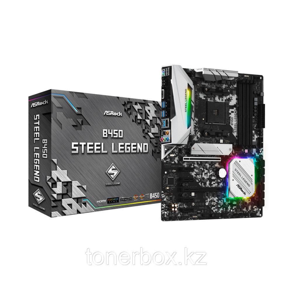 Материнская плата ASRock B450 STEEL LEGEND B450STEELLEGEND (ATX, AMD AM4)