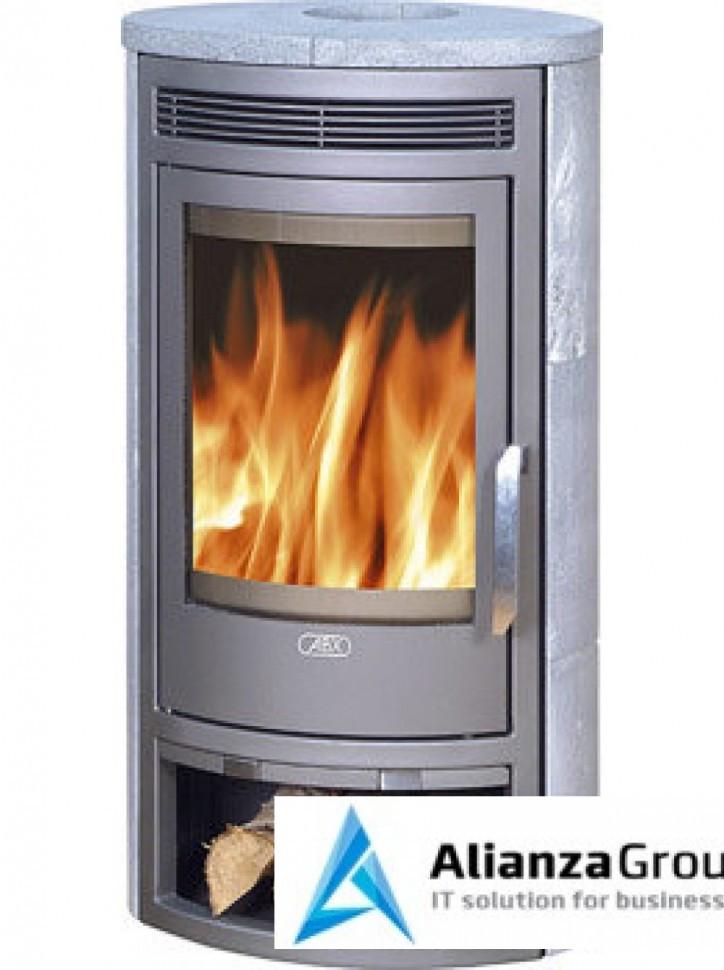 Печь-камин ABX Arktis 4 (серая сталь, талькохлорит)