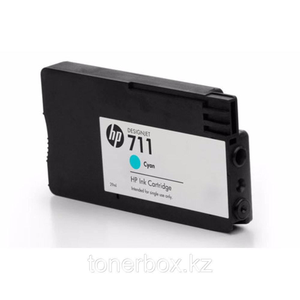 Струйный картридж HP №711 Голубой CZ130A