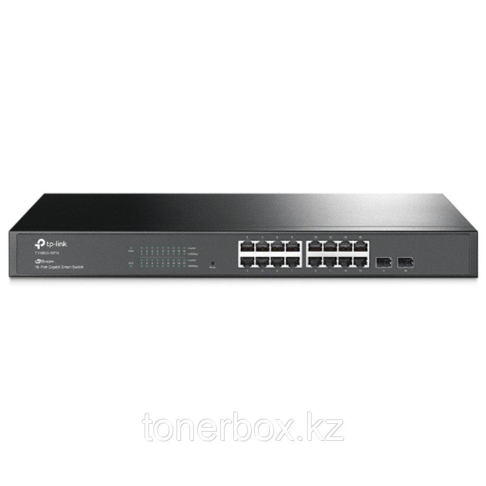 Коммутатор TP-Link T1600G-18TS (1000 Base-TX (1000 мбит/с), 2 SFP порта)