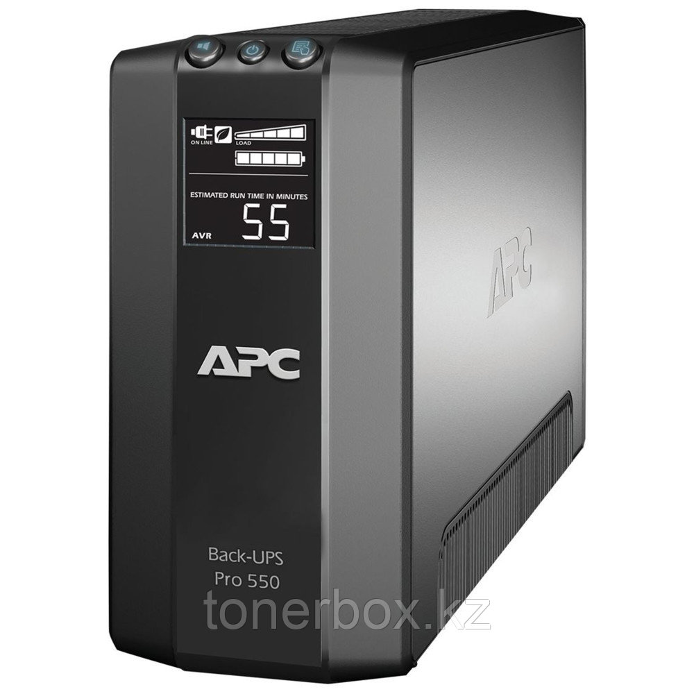 Источник бесперебойного питания APC Back-UPS Pro 550 BR550GI (Линейно-интерактивные, Напольный, 550 ВА, 330