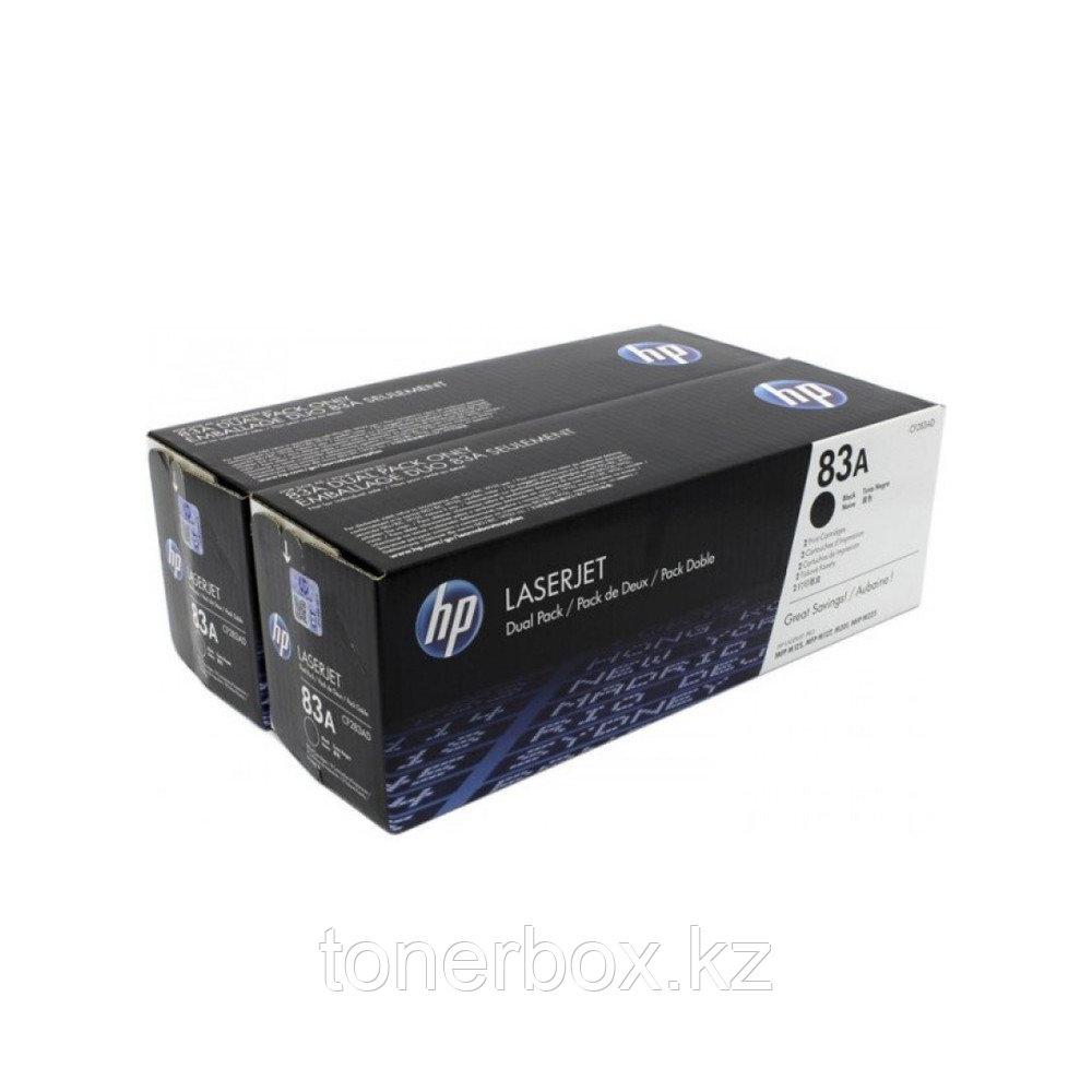 Лазерный картридж HP 83A Черный CF283AF