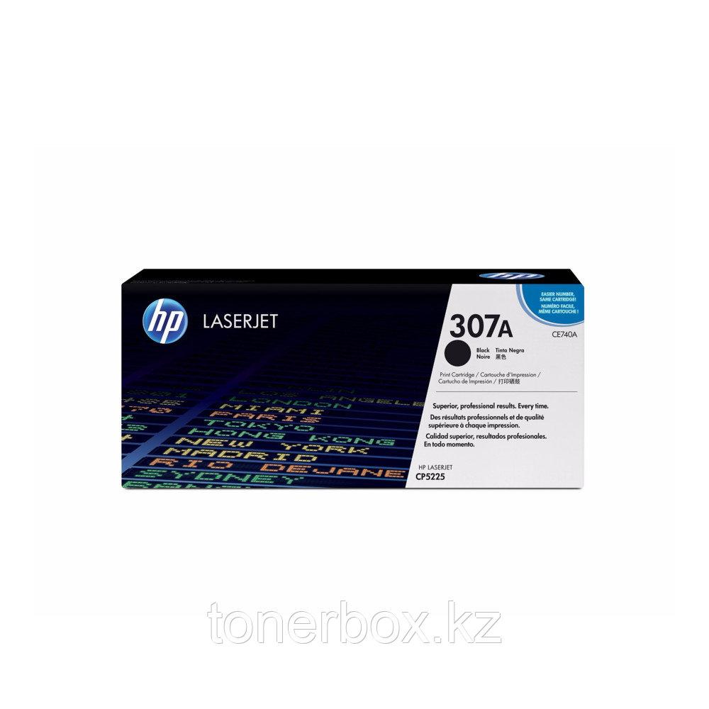 Лазерный картридж HP 307A Черный CE740A