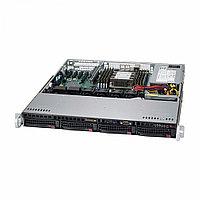 Серверная платформа Supermicro SuperServer SYS-5019S-MR (Rack (1U))