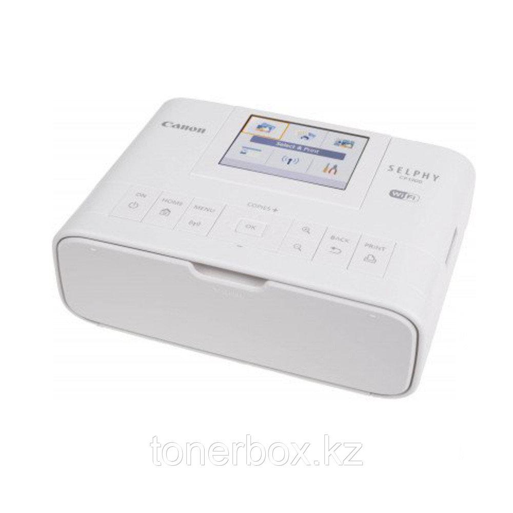 Принтер Canon SELPHY CP1300 WHITE 2235C011 (A6, Термосублимационный, Цветной)