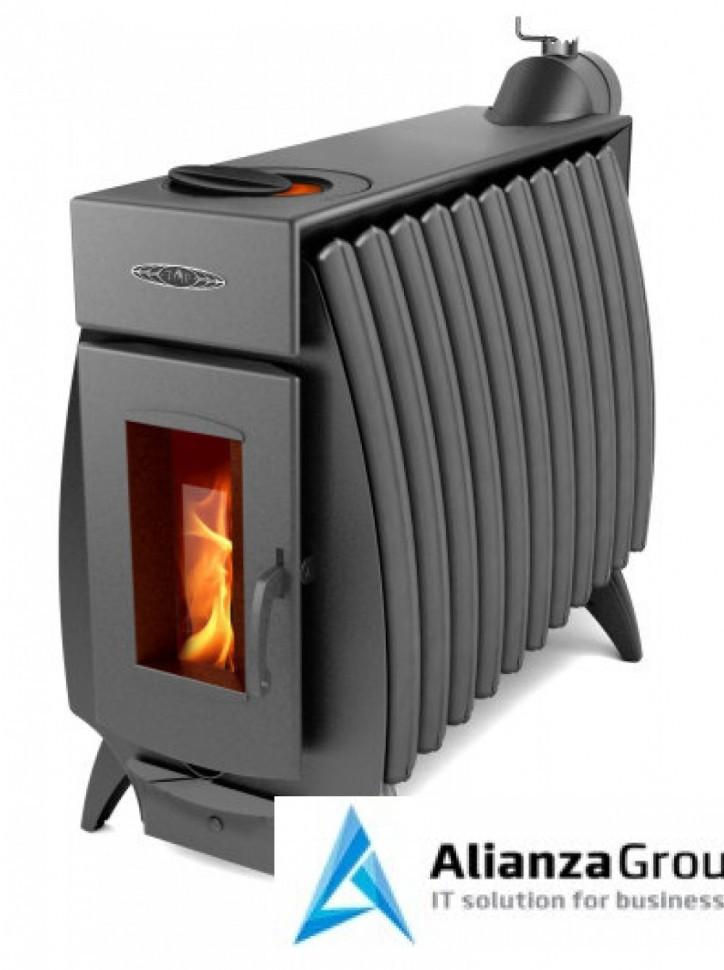 Отопительно-варочная печь Термофор Огонь-батарея 11Б антрацит
