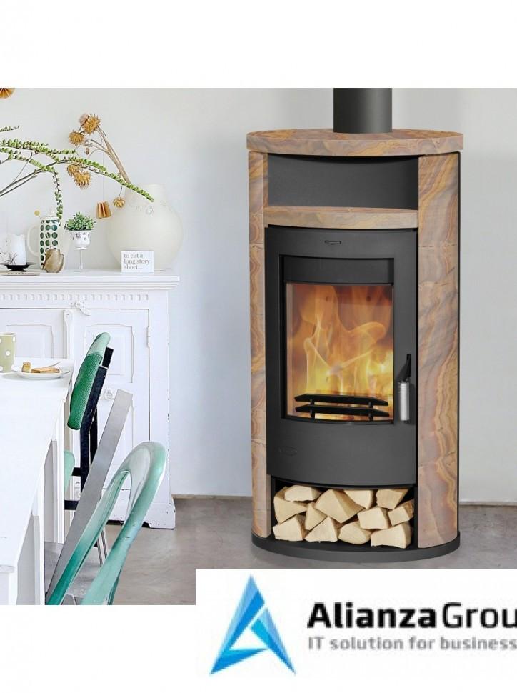 Печь-камин Fireplace Alicante Loticstone